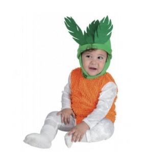 Αποκριάτικη στολή για μωρά Καροτάκι