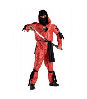 Αποκριάτικη στολή για αγόρια Νίντζα κόκκινος