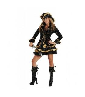 Αποκριάτικη στολή Βασίλισσα των Πειρατών για εντυπωσιακές εμφανίσεις