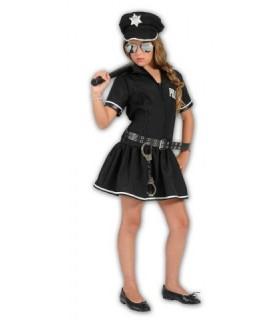 Αποκριάτικη παιδική στολή Αστυνομικίνα φόρεμα από το Looklike.gr!