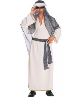 Αποκριάτικη στολή ενηλίκων άραβας λευκός για εντυπωσιακές εμφανίσεις