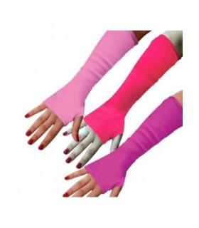 Γάντια Κοφτά Μοβ & Ροζ