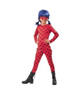 Στολή Ladybug με Περούκα ΣΕΤ