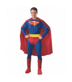 Στολή Superman Ενηλίκων της DC Comics Αυθεντική Deluxe