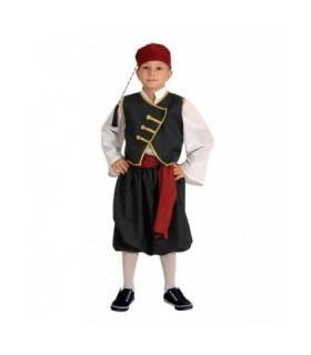 Παραδοσιακή στολή παιδική βρακοφόρος