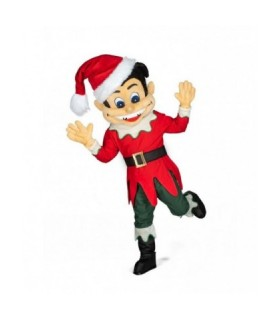 Στολή Mascot Ξωτικό των Χριστουγέννων επαγγελματική από το Looklike.gr