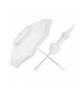 Αξεσουάρ μεταμφίεσης - Ομπρέλα Λευκή 72cm από το looklike.gr