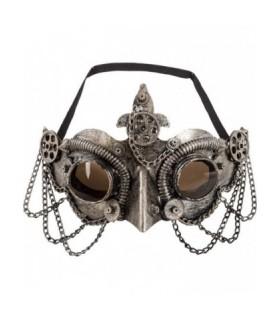Αποκριάτικη Μάσκα Steampunk Με Αλυσίδες από το Looklike.gr