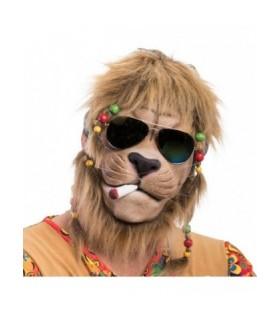 Αποκριάτικη Μάσκα Λάτεξ Λιοντάρι Hippie από το Looklike.gr