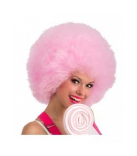 Αποκριάτικη Περούκα Αφάνα Ροζ 40cm από το Looklike.gr