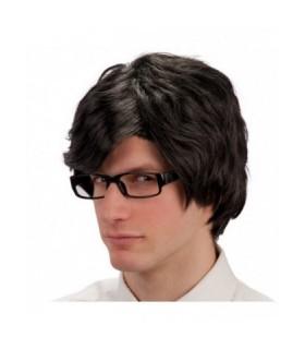 Περούκα Μαύρη Αντρική από το Looklike.gr