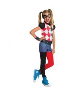 Αποκριάτικη παιδική στολή Harley Quinn DC αυθεντική