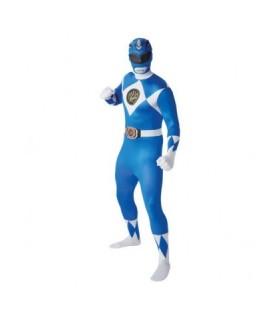 Αποκριάτικη στολή ανδρική Power Ranger μπλε  αυθεντική!