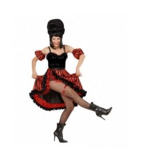 Στολή Χορεύτρια Can Can Κόκκινη