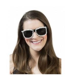 Αποκριάτικα γυαλιά με πέρλες