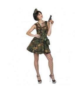 Αποκριάτικη γυναικεία στολή Κομάντο Φανταρίνα από το Looklike.gr
