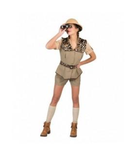 Αποκριάτικη στολή γυναικεία Σαφάρι - Εξερευνήτρια από το Looklike.gr
