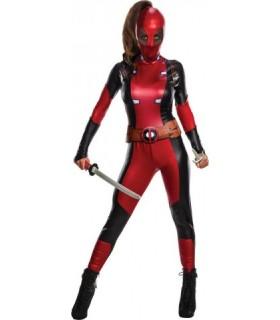 Αποκριάτικη στολή Deadpool Γυναικεία