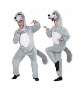 Στολή Λύκος Ολόσωμη Φόρμα μασκότ