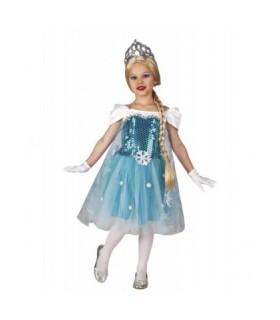 Αποκριάτικη Παιδική Στολή Βασίλισσα Του Πάγου διαθέσιμη όλο το χρόνο από το Looklike.gr