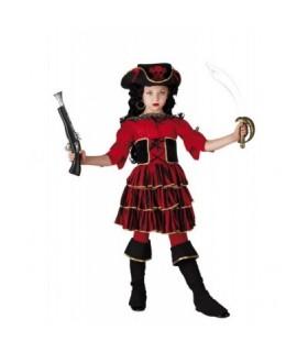 Αποκριάτικη Παιδική Στολή Red Corsair διαθέσιμη όλο το χρόνο από το Looklike.gr