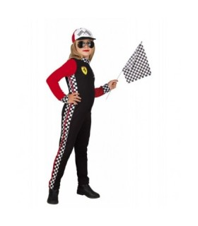 Αποκριάτικη Παιδική Στολή F1 Κορίτσι διαθέσιμη όλο το χρόνο από το Looklike.gr