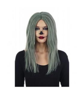 Αποκριάτικη περούκα Black Friday γυναικεία γκρι από το Looklike.gr