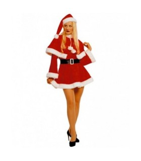 Γυναικεία Χριστουγεννιάτικη Στολή Αγιοβασιλίνα Με Κάπα από το looklike.gr