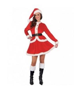 Γυναικεία Χριστουγεννιάτικη Στολή Αγιοβασιλίνα Βελούδο από το looklike.gr