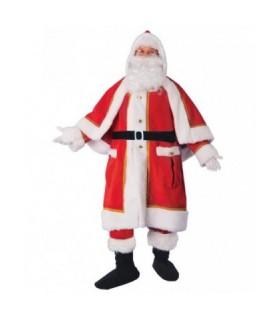 Ανδρική Χριστουγεννιάτικη Στολή Αγιοβασίλης Delux από το looklike.gr