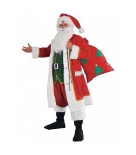 Ανδρική Χριστουγεννιάτικη Στολή Αγιοβασίλης Με Σάκο από το looklike.gr