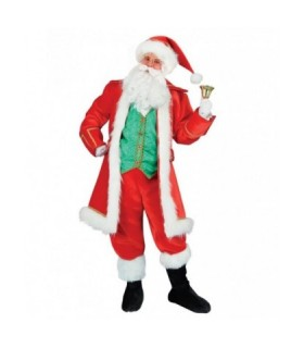 Ανδρική Χριστουγεννιάτικη Στολή Αι Βασίλης Πράσινος από το looklike.gr