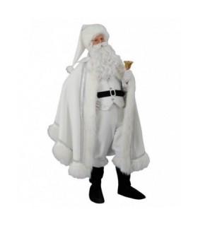 Ανδρική Χριστουγεννιάτικη Στολή Άγιος Βασίλης Λευκός από το looklike.gr