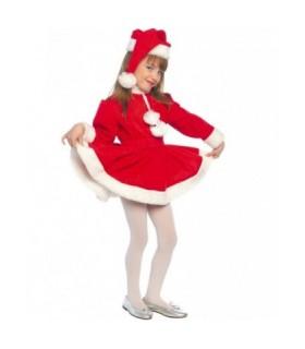 Παιδική Χριστουγεννιάτικη Στολή Αγιοβασιλίτσα για κορίτσια από το looklike.gr