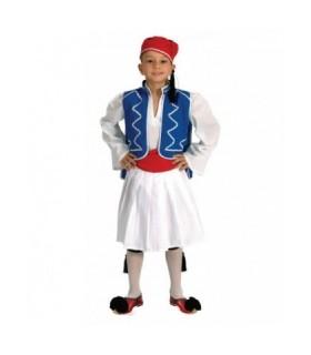Παραδοσιακή φορεσιά Τσολιάς για παιδιά οικονομική από το Looklike.gr