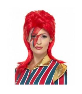 Αποκριάτικη περούκα David Bowie unisex από το Looklike.gr