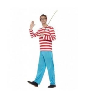 Αυθεντική στολή Wally Where's Wally από το Looklike.gr