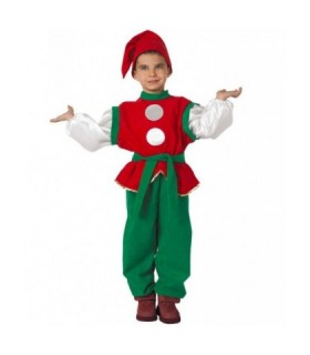 Παιδική Χριστουγεννιάτικη Στολή Ξωτικό Του Αι- Βασίλη από το looklike.gr