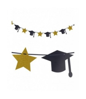 Διακοσμητική γιρλάντα αποφοίτησης 3 μέτρα από το Looklike.gr