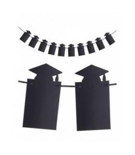 Διακοσμητική γιρλάντα καπέλα αποφοίτησης 3 μέτρα από το Looklike.gr