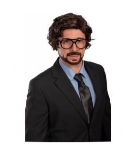 Αποκριάτικη περούκα ανδρική στυλ Professor La Casa De Papel από το Looklike.gr