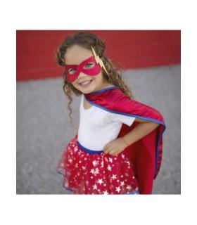Superhero Dress-up Set με Φούστα, Κάπα, Μάσκα