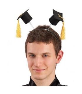 Στέκα αποφοίτησης με μίνι καπέλα αποφοίτησης διαθέσιμη όλο το χρόνο από το Looklike.gr