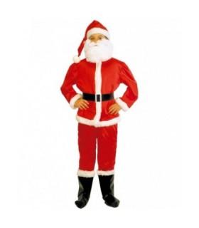 Παιδική Χριστουγεννιάτικη Στολή Αγιοβασίλης Βελουτέ για αγόρια από το looklike.gr