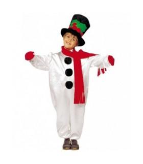 Παιδική Χριστουγεννιάτικη Στολή Χιονανθρωπάκι από το looklike.gr