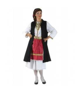 Παραδοσιακή Στολή Ηπειρώτισσα Με Σεγκoύνι από το looklike.gr