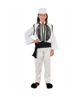 Παραδοσιακή Στολή Ηπειρώτης Παιδικό Λευκό από το looklike.gr