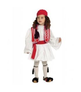 Παραδοσιακή Στολή Τσολιάς Κόκκινο Παιδικό από το looklike.gr