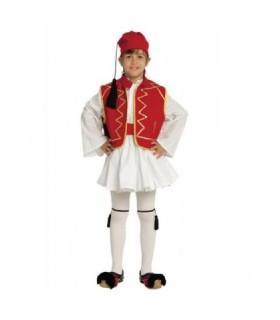 Παραδοσιακή Στολή Τσολιάς Παρελάσεων Κόκκινο από το looklike.gr