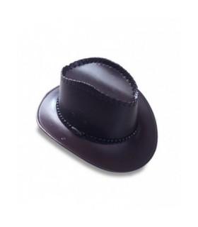 Αξεσουάρ μεταμφίεσης - Καπέλο Cow Boyδερματίνηαπό το looklike.gr